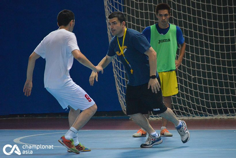 Futsal. Training the national team of Uzbekistan (22.07.2016)