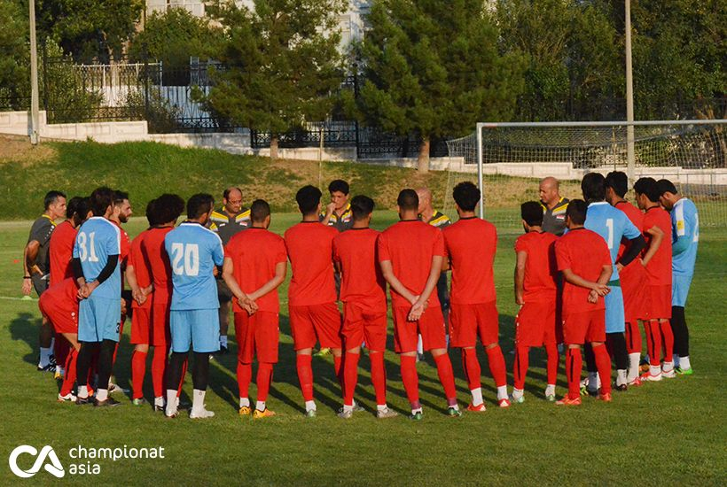 Training the national team of Iraq (22.07.2016)