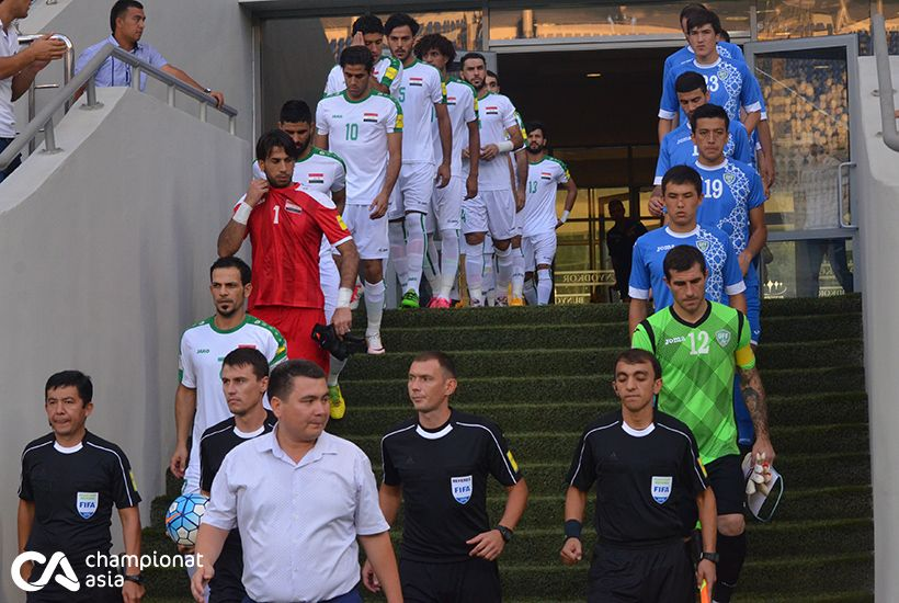 Friendly match. Uzbekistan - Iraq 2:1