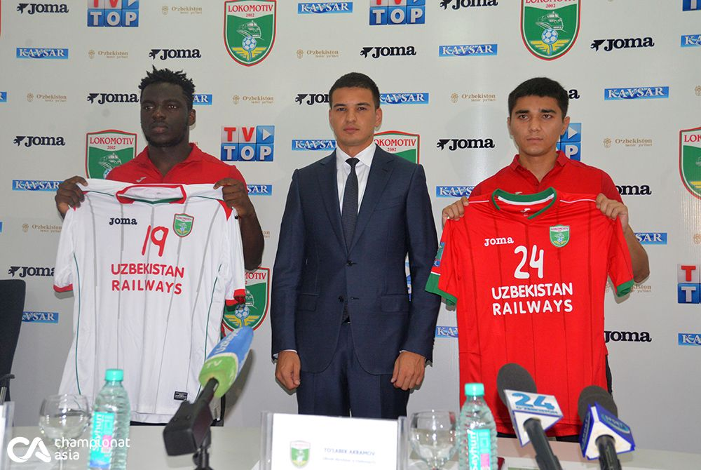 Lokomotiv presented new players