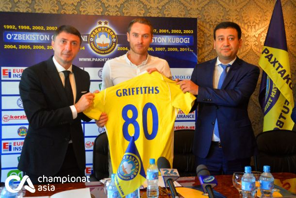 Pakhtakor presented new player