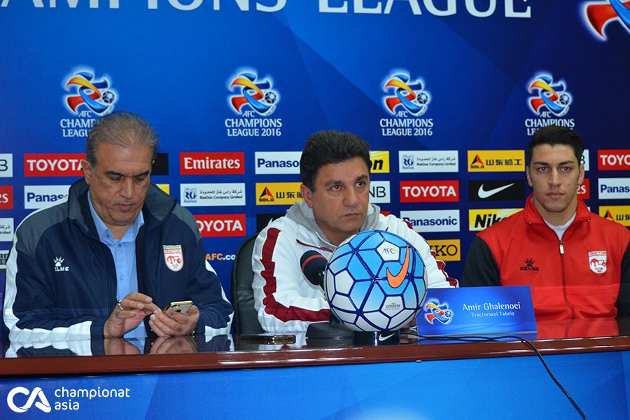 Pakhtakor vs Tractorsazi. Pre match press conference