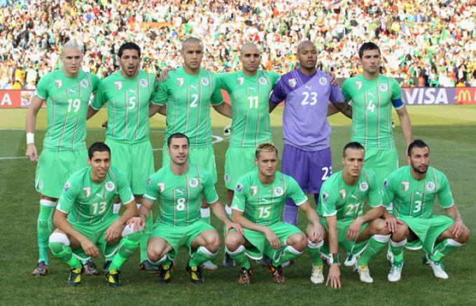 Сборной алжира футболу состав по