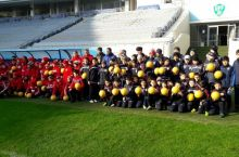 Football reach in Uzbekistan expanded through contribution