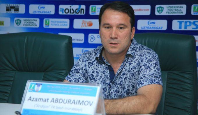 Azamat Abduraimovni tabriklaymiz!