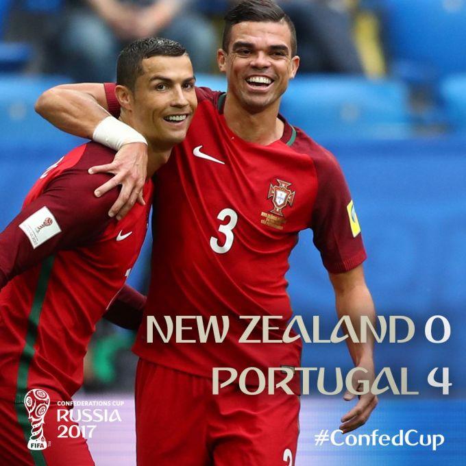 Yangi Zelandiya – Portugaliya 0:4