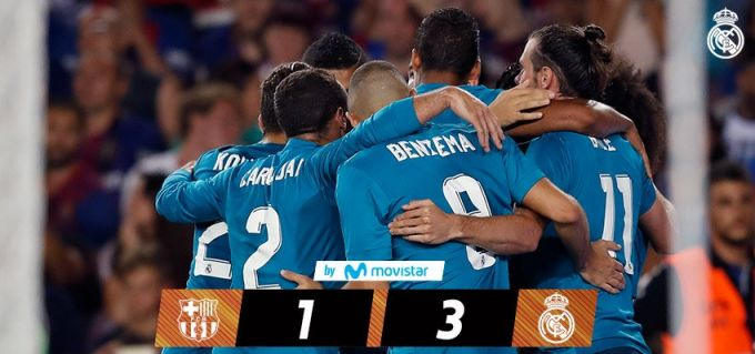 F.C Barselona - Real Madrid C.F . 1:3