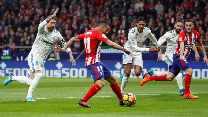 "Ispaniya chempionat. ""Atletiko"" - ""Real"" 0:0 (+ foto)"