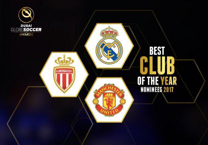 """""""Real"""", """"Monako"""" va """"Manchester Yunayted"""" """"Globe Soccer Awards"""" talqiniga ko'ra yilning eng yaxshi klubi bo'lishga nomzod (foto)"""