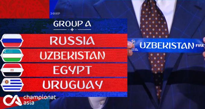 Tasavvur qiling: O'zbekiston jahon chempionatiga chiqqanida, qaysi guruhda bo'lardi (+FOTO)
