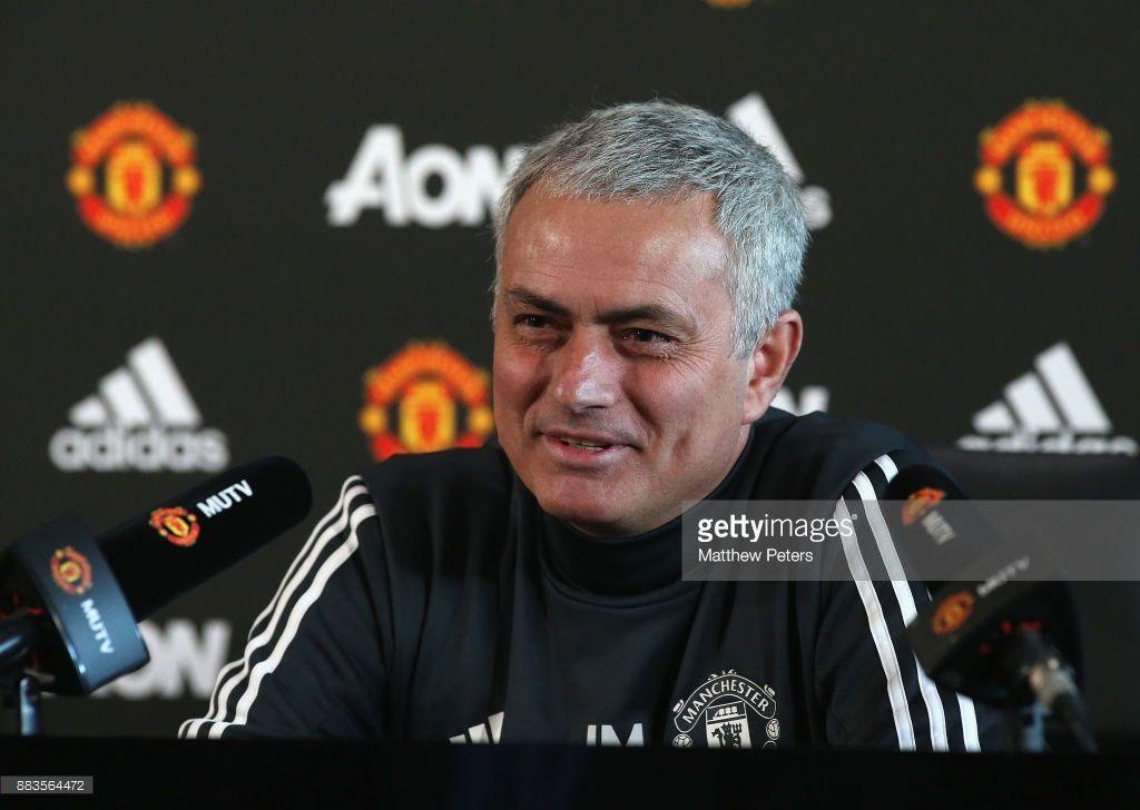 """Arsenal"" - ""Manchester Yunayted"". Mourino ishtirokida matbuot-anjumani- uzfifa.net."