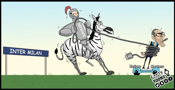 Kechagi kunning markaziy o'yiniga bag'ishlangan karikaturalar