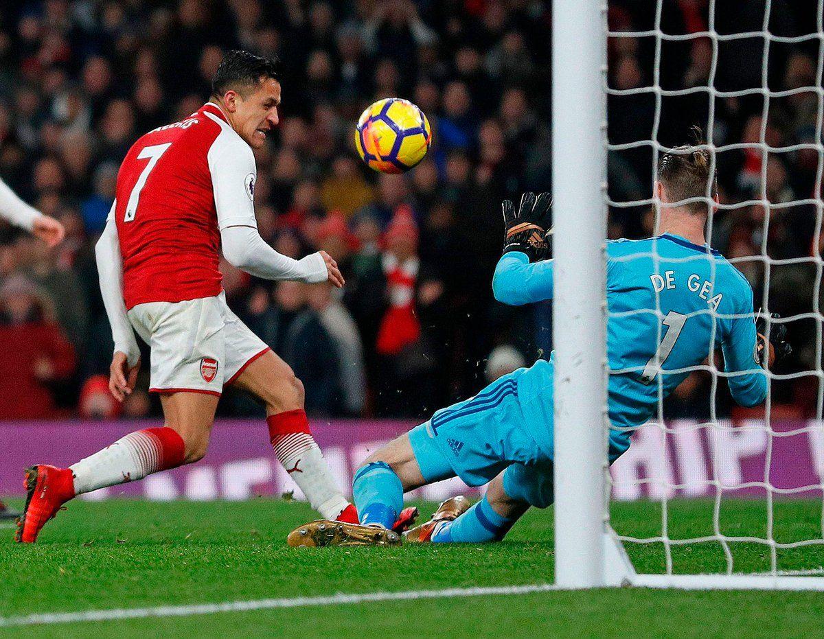 """De Xeaning seyvlarini tomosha qiling yoxud """"Arsenal"""" - """"Manchester Yunayted"""" 1:3. VIDEO - uzfifa.net."""