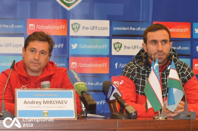 """Andrey Miklyaev: """"Paxtakor"""" bizga muxlislik qilishi kutilmagan, lekin yoqimli holat"""""""