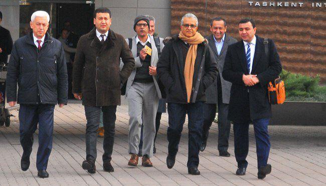 OFK prezidenti Toshkentda- uzfifa.net.