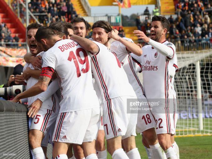 """Gattuzoning debyuti omadsiz chiqdi. 95-daqiqada """"Benevento"""" darvozaboni """"Milan""""ga gol urdi (FOTO+VIDEO)"""