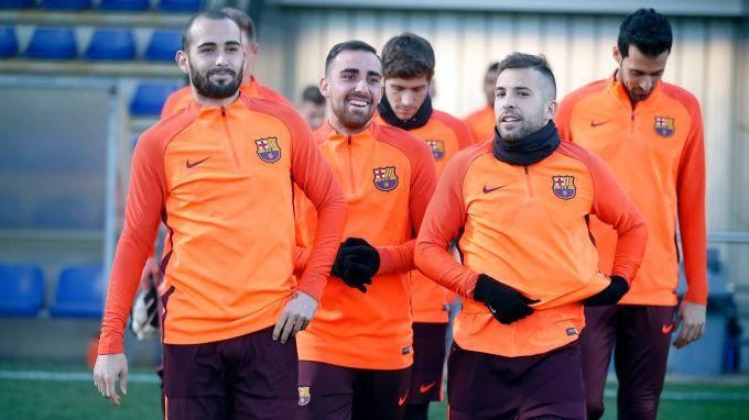 """CHempionlar ligasi. """"Barselona"""" mashg'ulotidan 10ta surat"""
