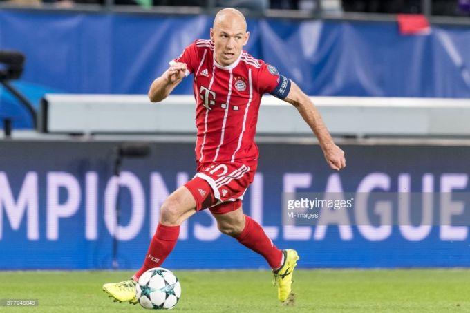 """Aren Robben: """"Real""""dan ketish qarorim faoliyatimdagi eng to'g'risi"""""""