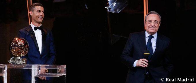 """Krishtianu Ronaldu """"Oltin to'p"""" sohibi (+ fotolar)"""