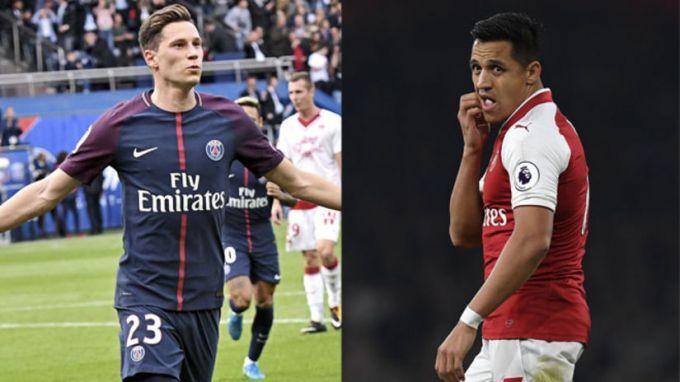 """""""Arsenal"""" Sanchesni Drakslerga almashtirishni xohlamoqda"""