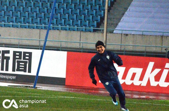 O'zbekiston U-23 - Qatar U-23. Ravshan Haydarov jamoasi rasmiy mashg'ulot o'tkazdi FOTOGALEREYA