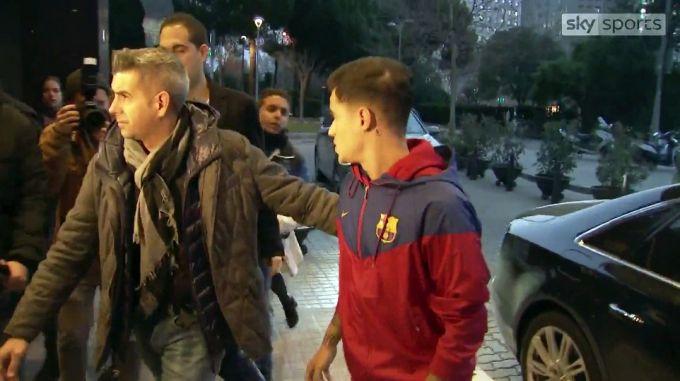 "Koutino ""Barselona""da tibbiy ko'rikdan o'tdi + FOTO"