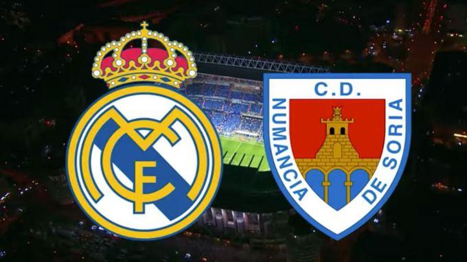 """Ispaniya Kubogi. """"Real Madrid"""" - """"Numansiya"""". Tarkiblar elon qilindi. LIVE"""