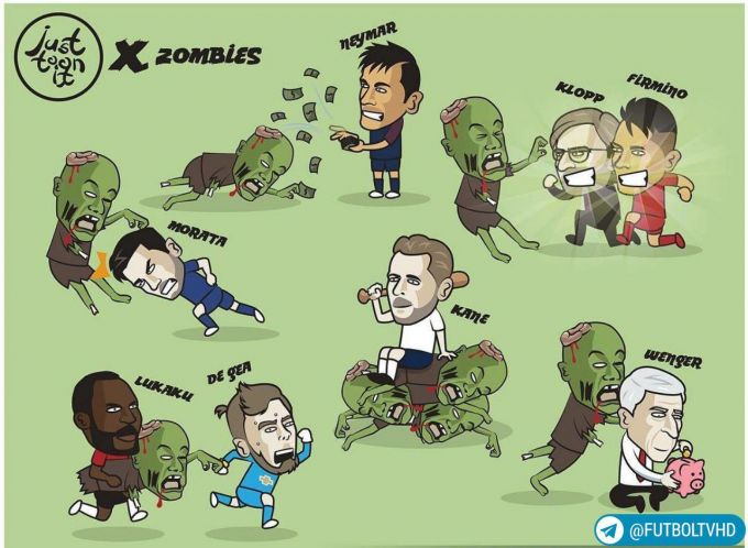 Karikatura: Yulduzlar zombilarga qarshi qanday kurashgan bo'lishardi?