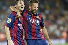 Alba Messi uchun idel assistent. U bu mavsumda Leoga eng ko'p golli pas berdi  - uzfifa.net.