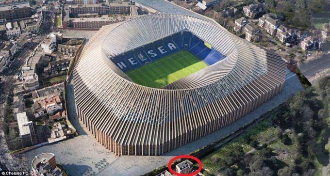 """Londondagi oila """"CHelsi""""ning yangi stadioni qurilishiga halaqit berishi mumkin"""