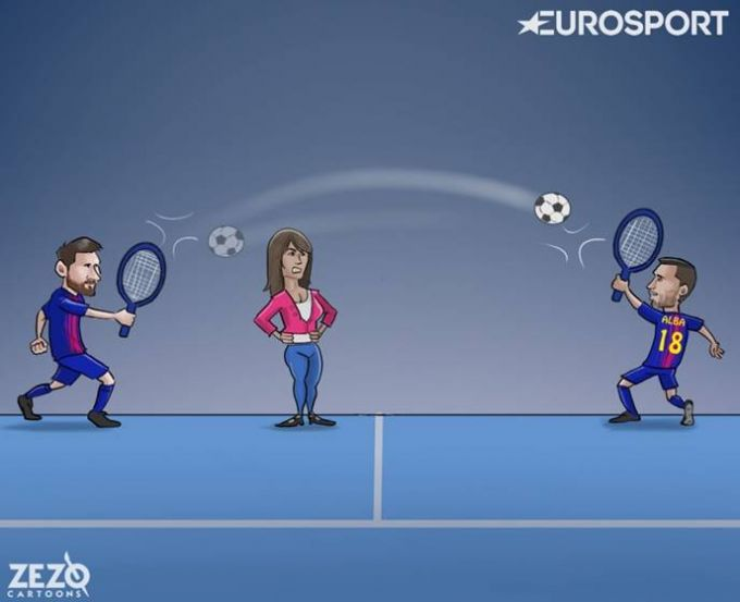 Karikatura: Rashk qilma Antonella