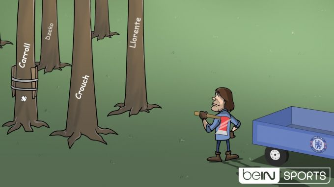 Karikatura: Konte gigant izlamoqda!