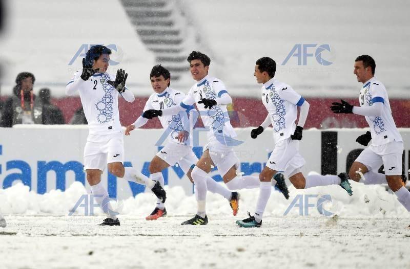 Олимпийская сборная Узбекистана выиграла Чемпионат Азии U-23