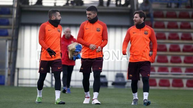 """ECHL. """"Barselona""""ning bugungi bahs oldidan rasmiy mashg'uloti FOTO"""