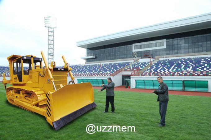 """""""Navbahor"""" stadioni memlashtirildi (FOTO)"""