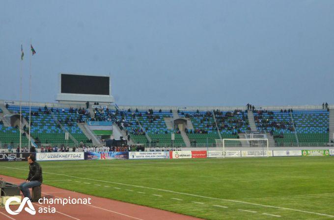 """""""Istiqlol"""" stadioniga muxlislar kutilganidan ham kam tashrif buyurdi FOTO"""