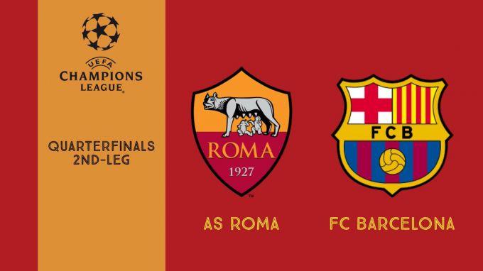 """ECHL. """"Roma"""" - """"Barselona"""" 3:0. """"Roma"""" sensacion tarzda """"Barsani"""" mag'lub etdi"""