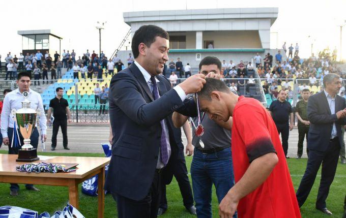 Umid Ahmadjonov Prokuratura organlari xodimlari o'rtasidagi futbol musobaqasi finalida ishtirok etdi