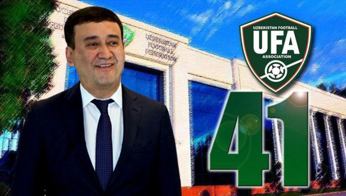 MOQ prezidenti va O'FA 1-vice-prezidenti Umid Ahmadjonov bugun 41 yoshni qarshi oldi