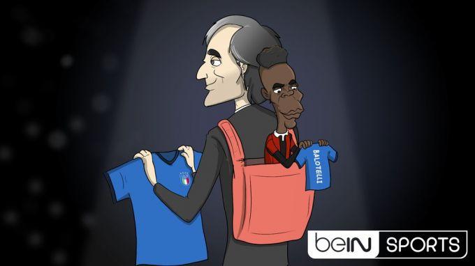 Karikatura: Balotelli va Manchini yana birgami?!
