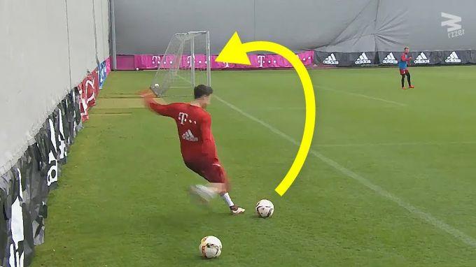 Messi, Neymar, SHakiri, Levandovski, Isko. Mashg'ulotlarda kiritilgan super gollar (VIDEO)