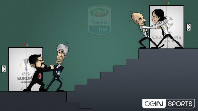 Karikatura: Italiyada evrokuboklar uchun kurash davom etmoqda