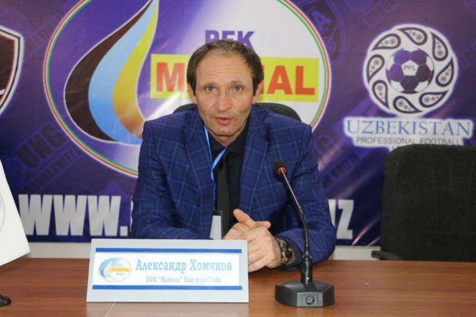 """Aleksandr Xomyakov: """"Biz g'alaba qozonishda davom etamiz"""""""