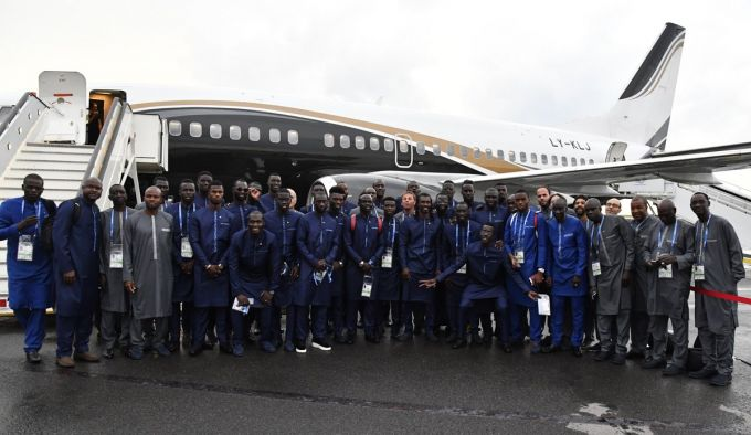 JCH-2018. Senegal terma jamoasi Rossiyada FOTO