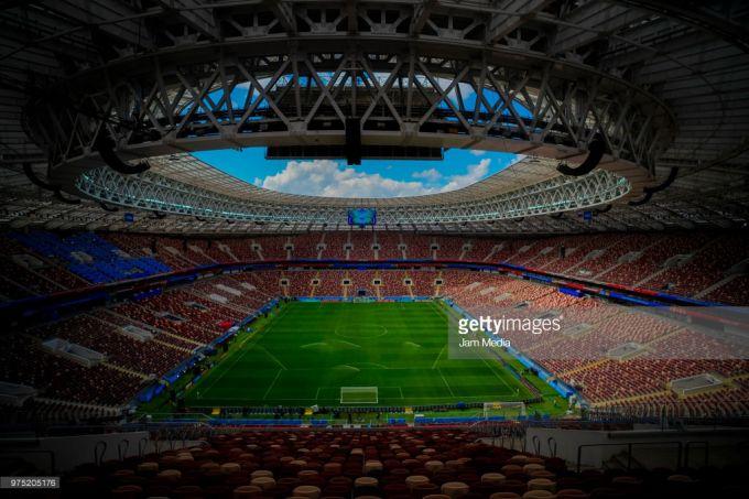 """""""Lujniki"""" stadioni ochilish o'yinigacha qanday holatda? (foto)"""