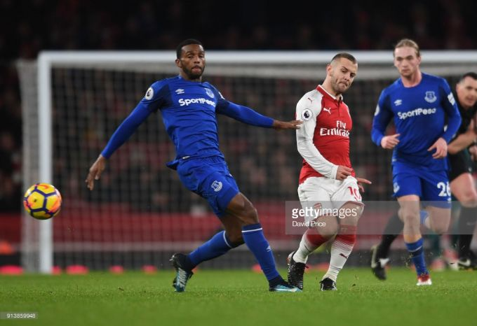 """""""Arsenal"""" yarim himoyachisi jamoadan ketishini malum qildi"""