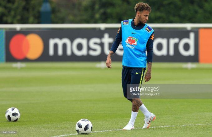 """Neymar: """"Germaniyadan revansh olishga imkoniyat bo'lishiga umid qilaman"""""""