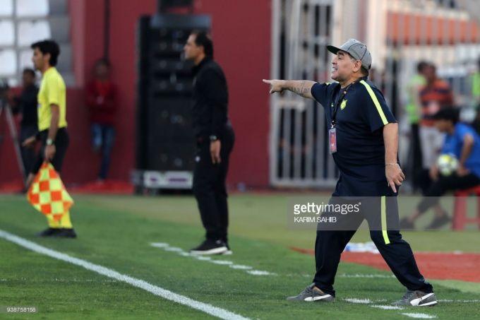 Maradona jamoasida omadsizlik