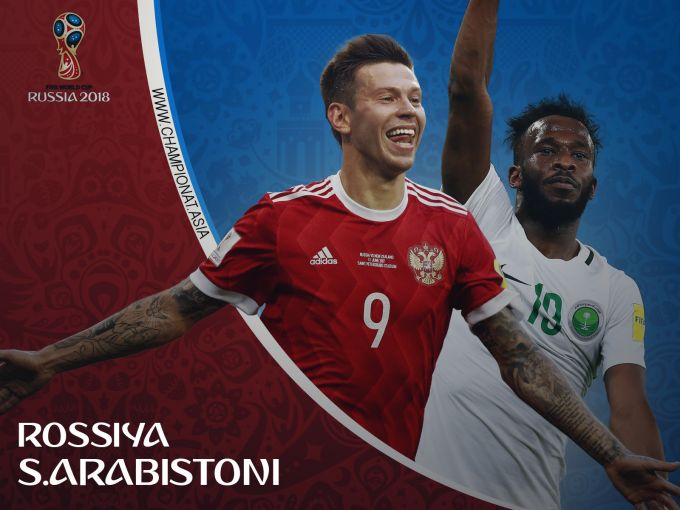 JCH-2018. Rossiya - Saudiya Arabistoni 1:0 LIVE. ONLAYN (Matnli translyaciya)