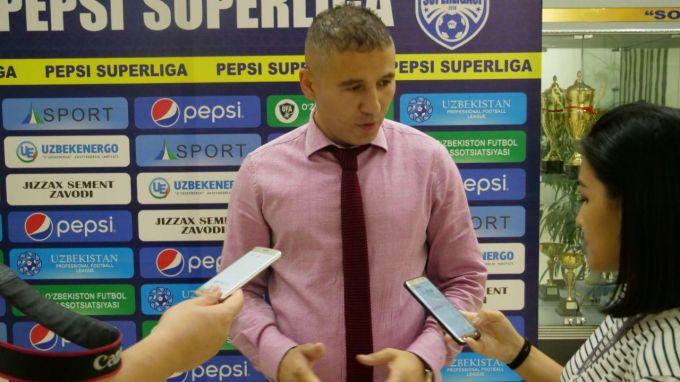 """Ulug'bek Baqoev: """"Futbolda hamma narsa bo'lishi mumkin"""""""